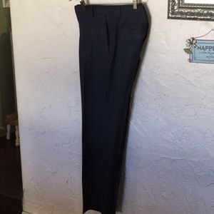 Black striped slacks.  Size 33/32